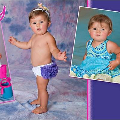 Kynley's 9 month Magnet – Madison South Dakota Baby Photography
