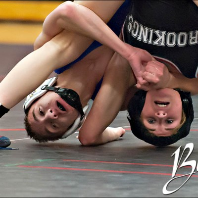 Brookings Wrestling vs Aberdeen Central- Brookings South Dakota Sports Photography