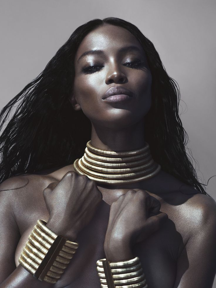 Naomi Campbell gorgeous in Interview Magazine