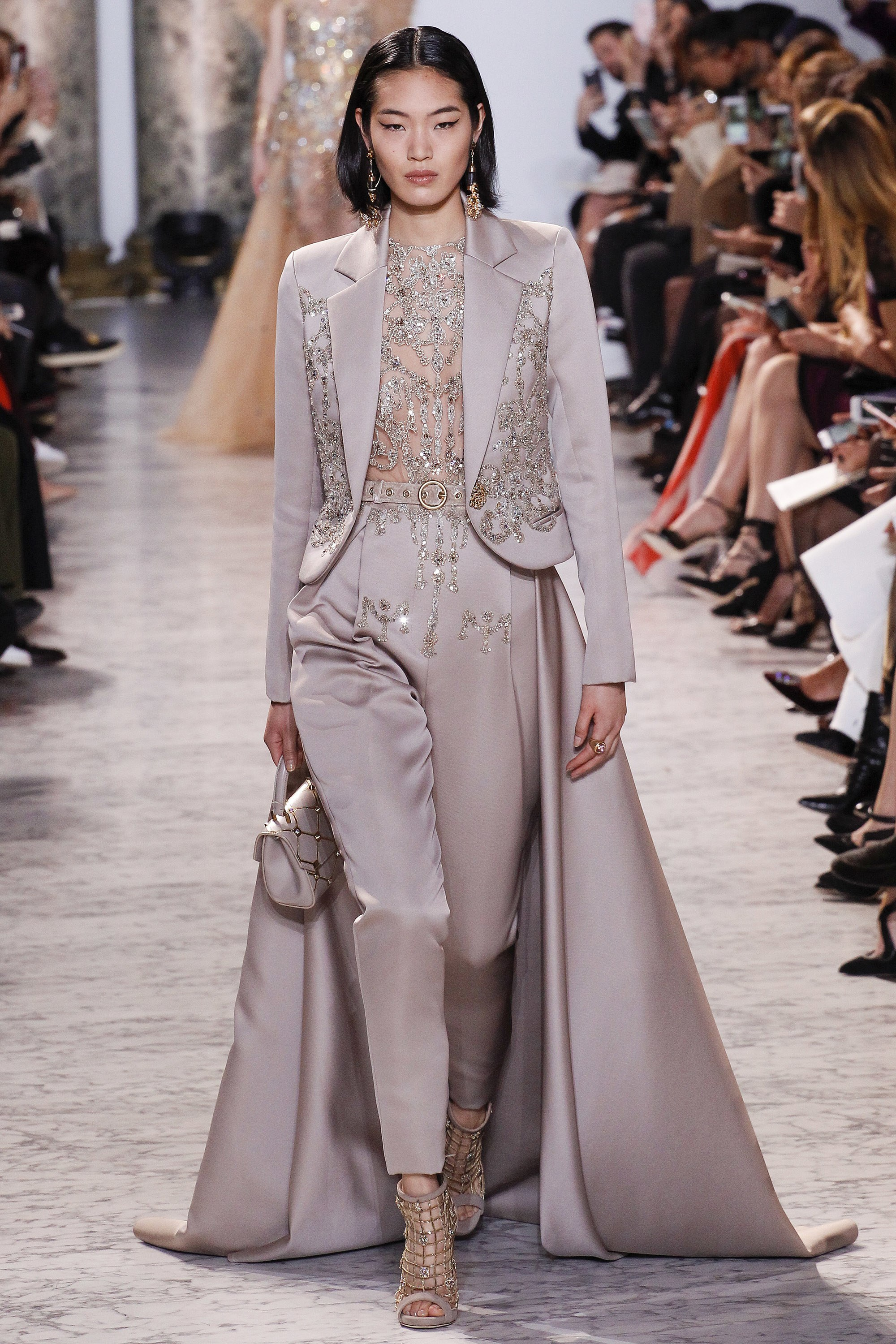 Asian Model in Elie Saab Collection
