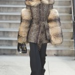 Grace Bol in Marc Jacobs Fur