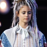 Models at Marc Jacobs Show in Faux Dread Locks