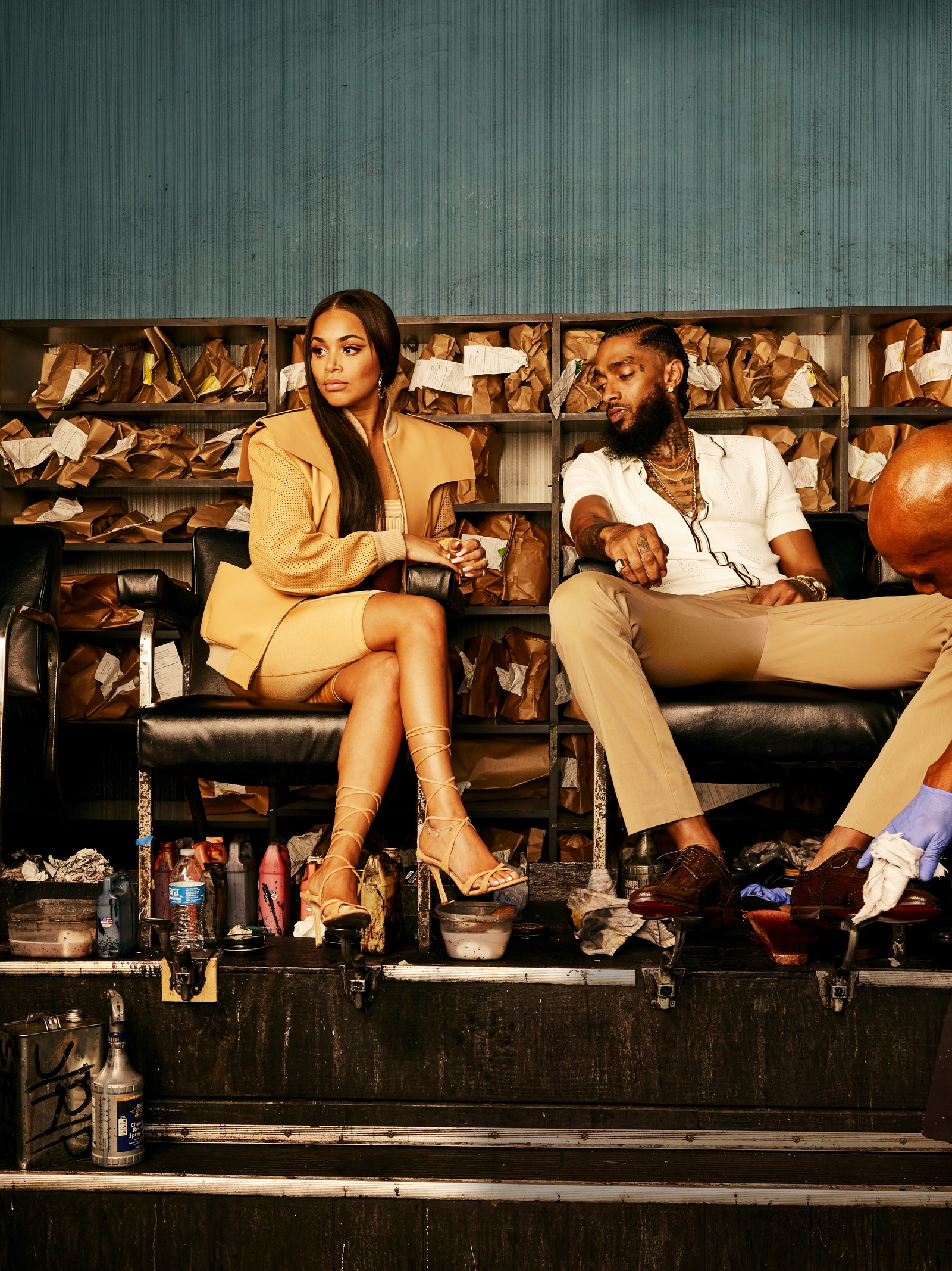 Nipsey Hussle_Lauren London GQ3