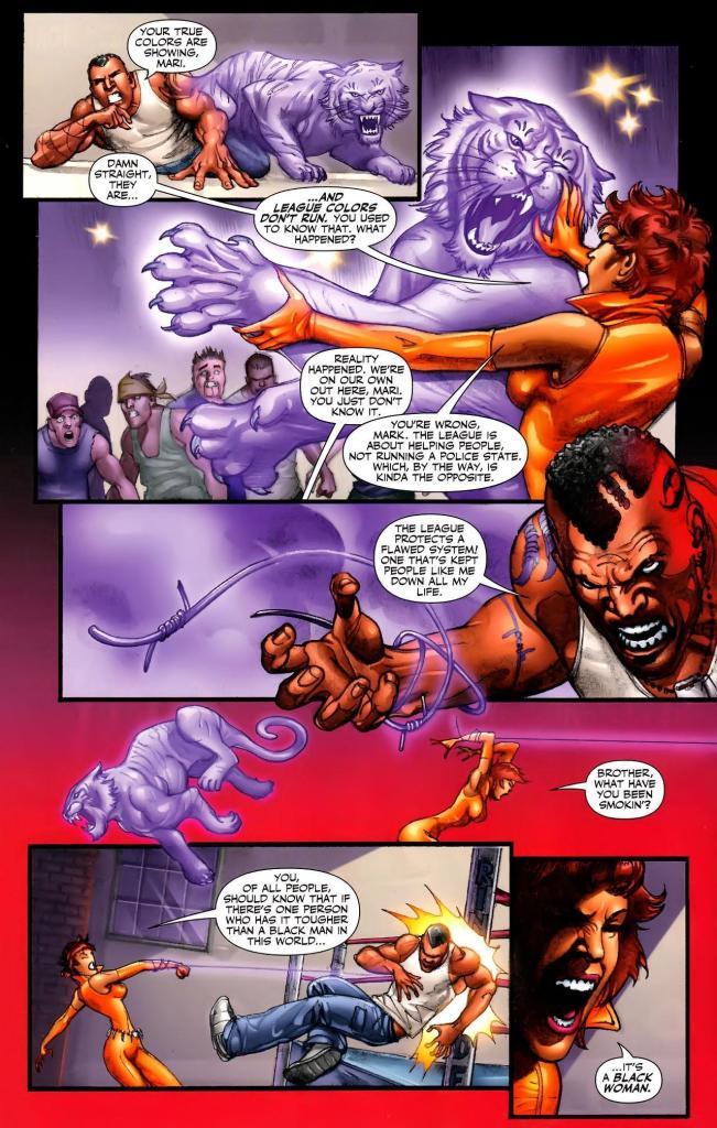 Titans #36, August 2011