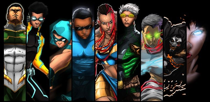 Image result for black superheroes