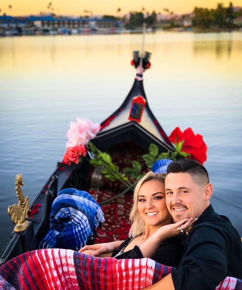 The Most Romantic Valentine's Day Idea | Venetian Gondola Ride