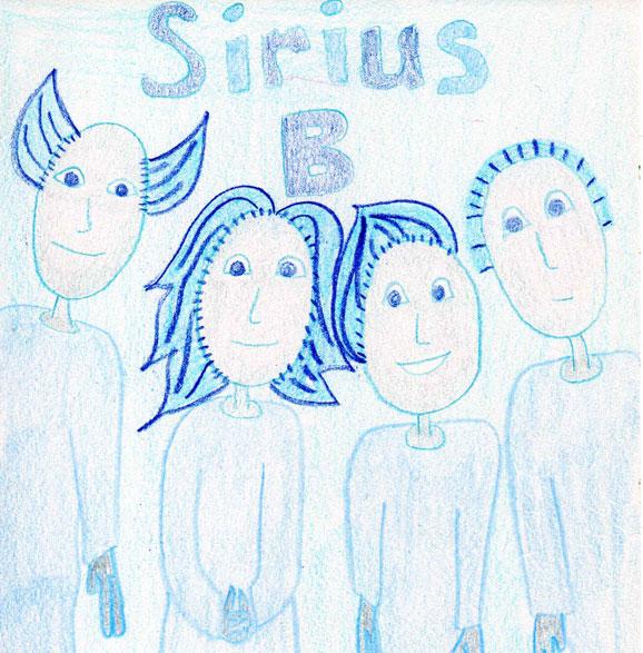 Black Swan Sibyl ~ Channeled Spirit Drawings ~ Sirius B