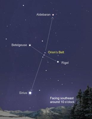 Orion-sirius