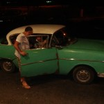 Old Car in Havana Cuba