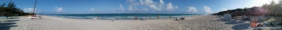 The beach in Veradado, Cuba