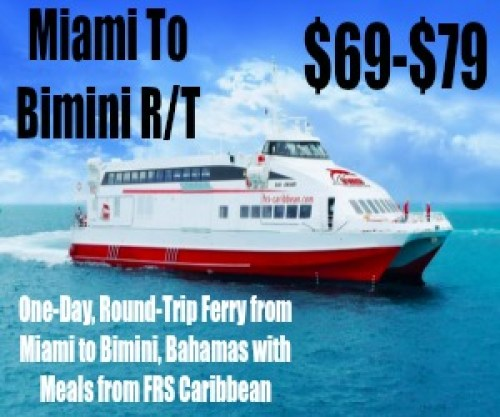 Travel Alert: Sail To Bimini From Miami For under $80 R/T: http://bit.ly/2hxYUto ( Groupon Affiliate)