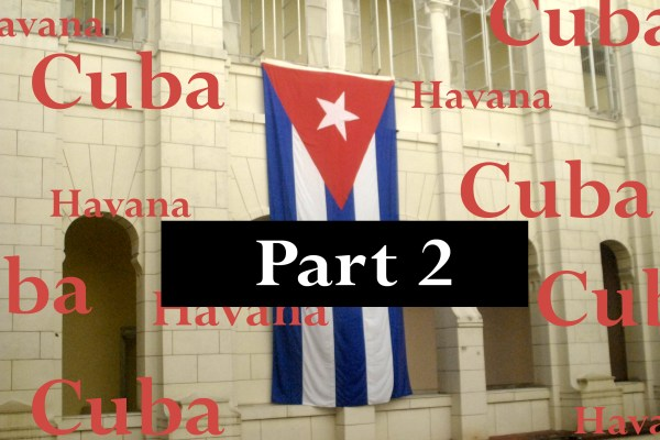 Cuban Flag at the Museum of the Revolution