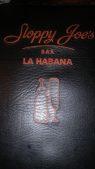 Sloppy Joe's menu