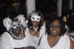 Masquerade All White Yacht Party