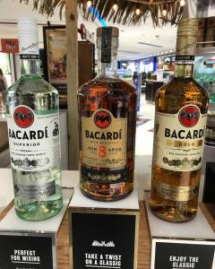 Bacardi's top sellers!