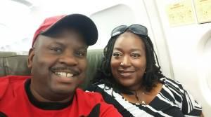 Bill & Nikki flying to Jamaica