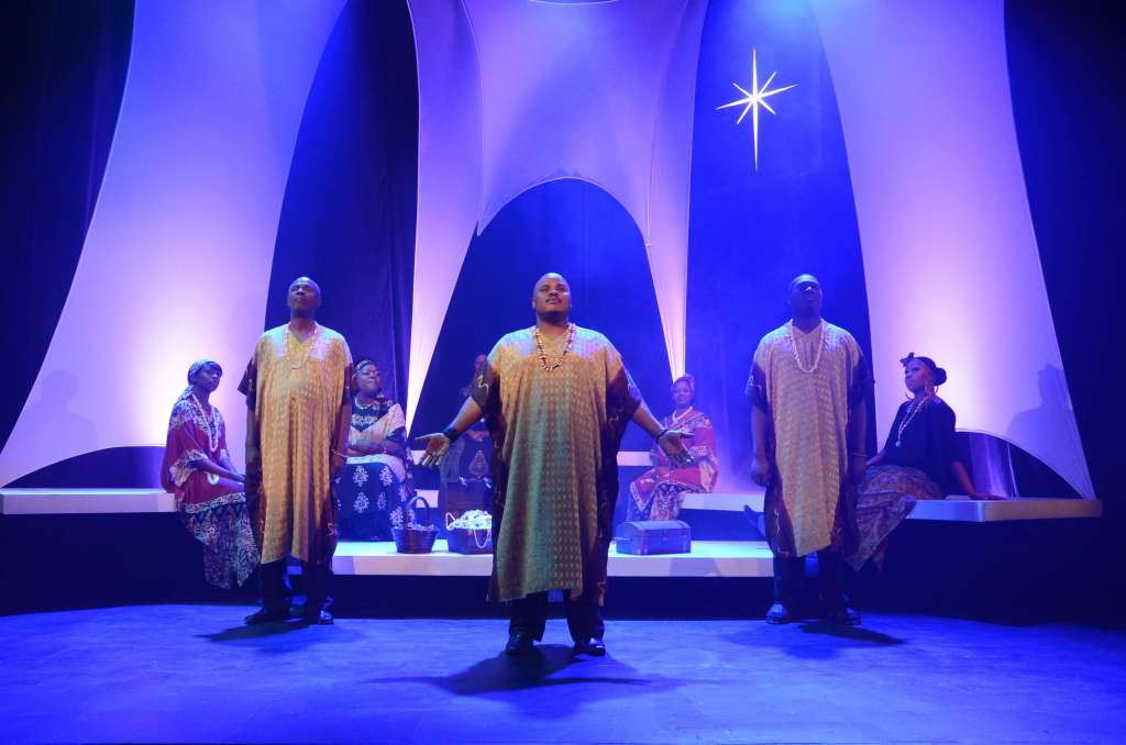The black Theatre troupe black nativity2016