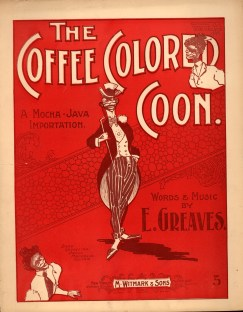 Sheet music for a Minstrel tune.