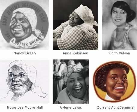 faces of aunt jemina