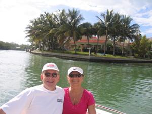 Riding in Captain Bob's Boat