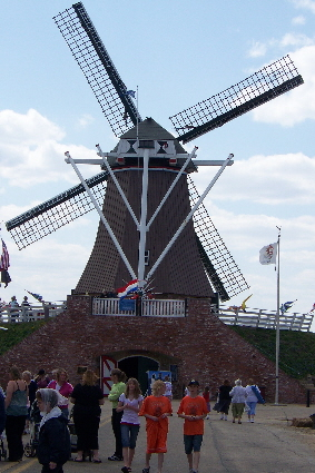 Fulton's signature attraction-authentic working windmill