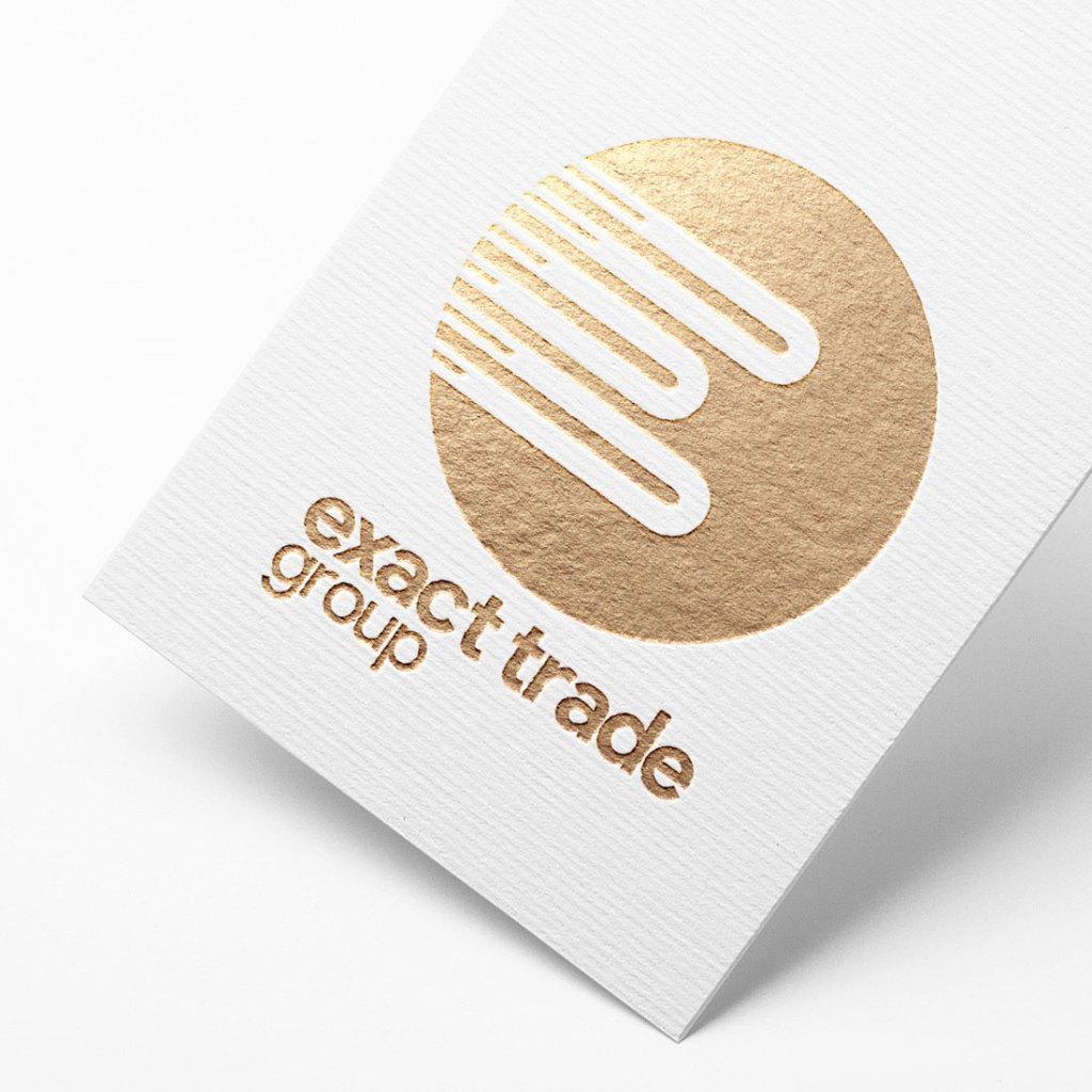 exact trade group branding for black tiger creative place holder image on work page