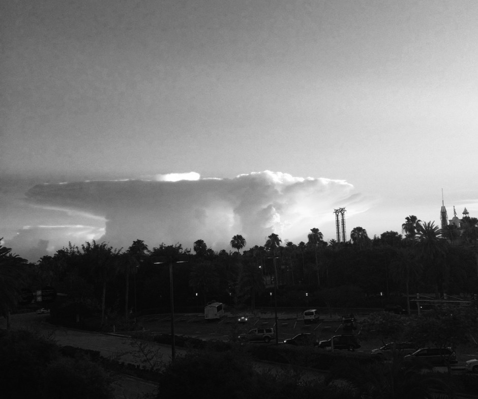 clouds over Orlando - 1