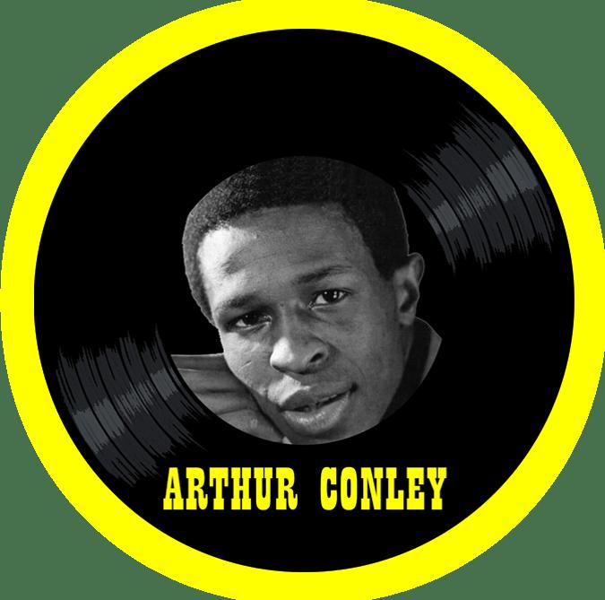 Black to the Music - Arthur Conley - logo header