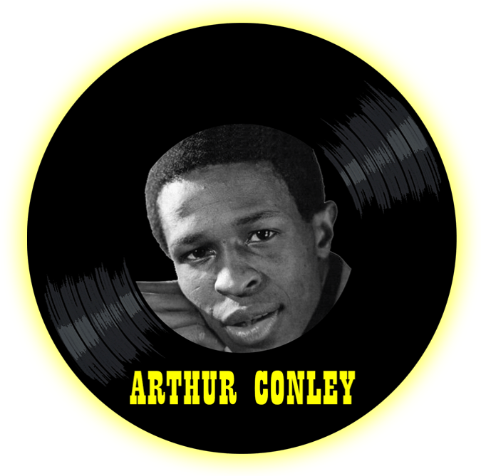 Black to the Music - Arthur Conley - logo header