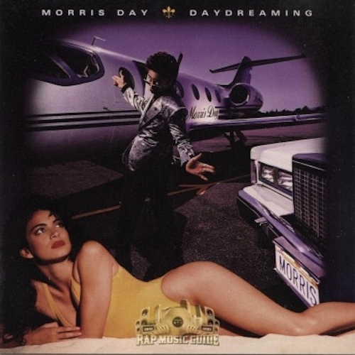Black to the Music - Morris Day - Lp 1987 Daydreaming