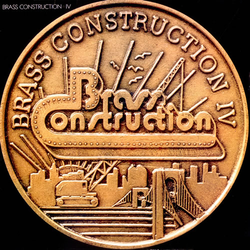 Black to the Music - The Brass Construction - LP 1978 - IV