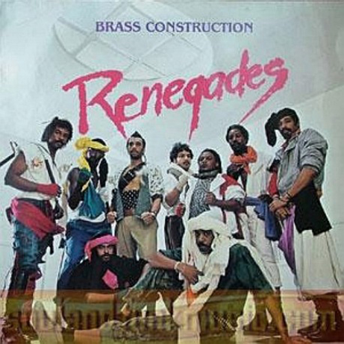 Black to the Music - The Brass Construction - LP 1984 - Renegades
