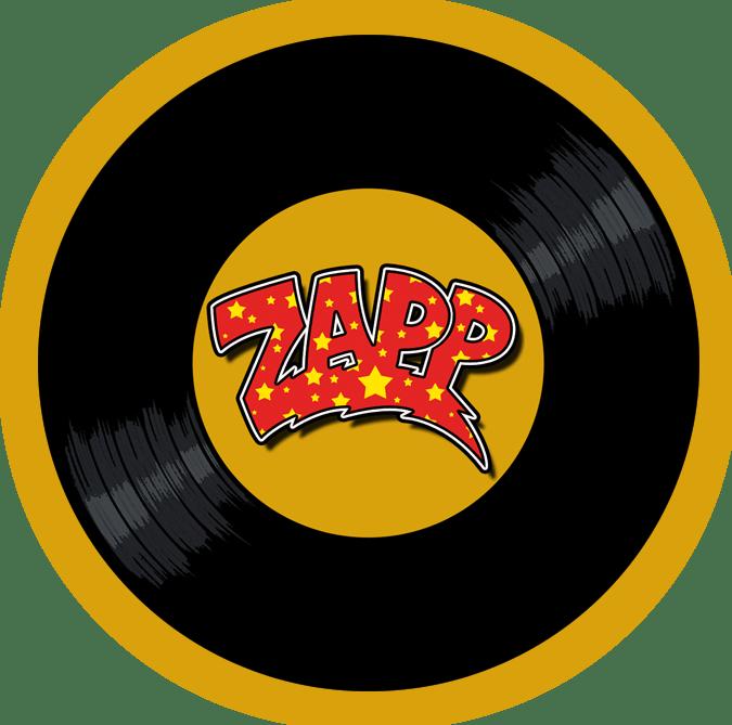 Black to the Music - logo Zapp header