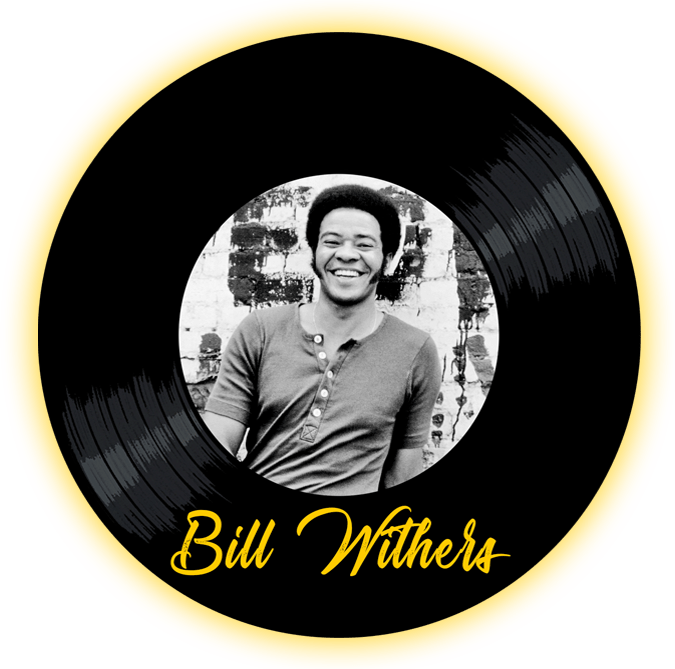 Black to the Music - Bill Withers - logo header