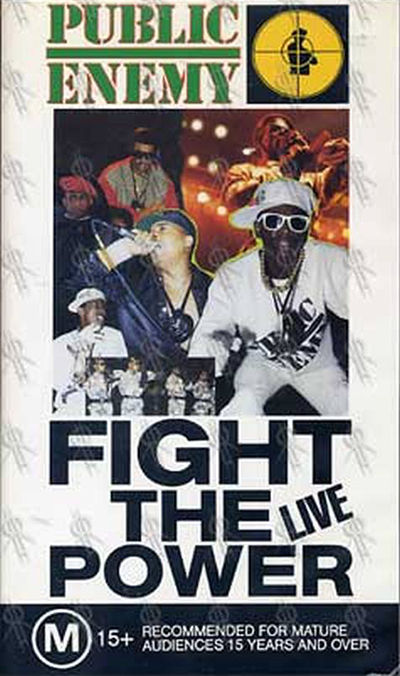 Black to the Music - Public Enemy DVD 1989 - Fight the Power Live