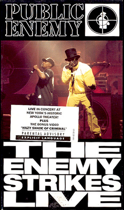 Black to the Music - Public Enemy DVD 1994 - The Enemy strikes Live
