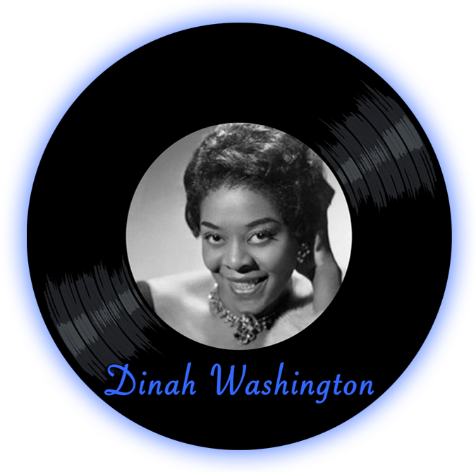Black to thee Music - Dinah Washington - logo header