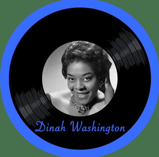 Black to thee Music - Dinah Washington - logo header