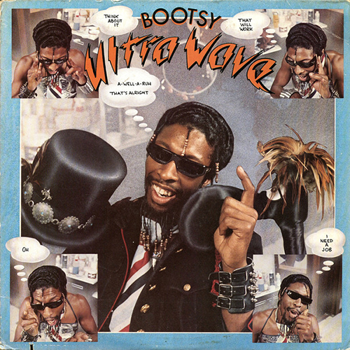 Black to the Music - Bootsy Collins - 1980 - Ultra Wave