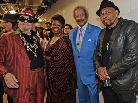 Black to the Music - Dr. John, Irma Thomas, Allen Toussaint and Aaron Neville
