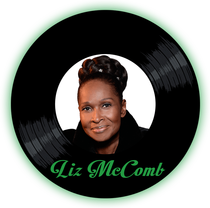 Black to the Music - Liz McComb - logo header