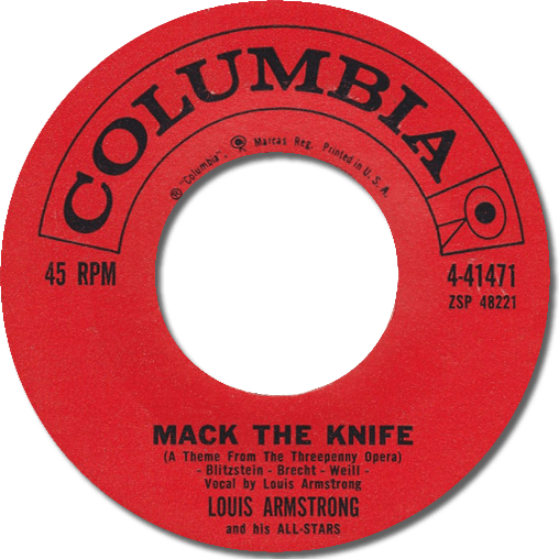 Black to the Music - Louis Armstrong - 1959 - Mack the Knife