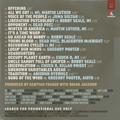 Black to the Music - 2013 - Evolutionary Minded (verso)
