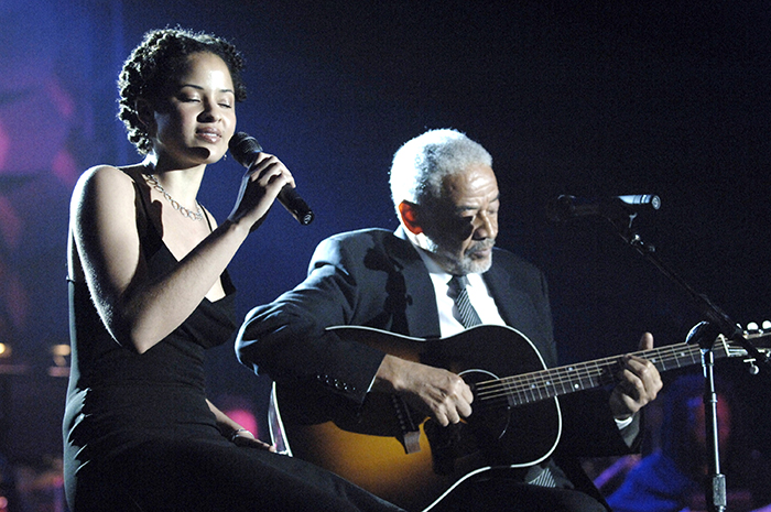 Black to the Music - Bill Withers with Kori Withers during 36th Annual Songwriters Hall of Fame Induction Ceremony - (c) L. Busacca