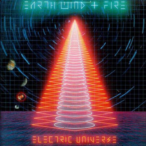 Black to the Music - EWF - Lp 1983 - ELECTRIC UNIVERSE