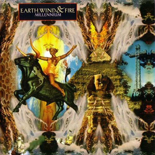 Black to the Music - EWF - Lp 1993 - MILLENIUM