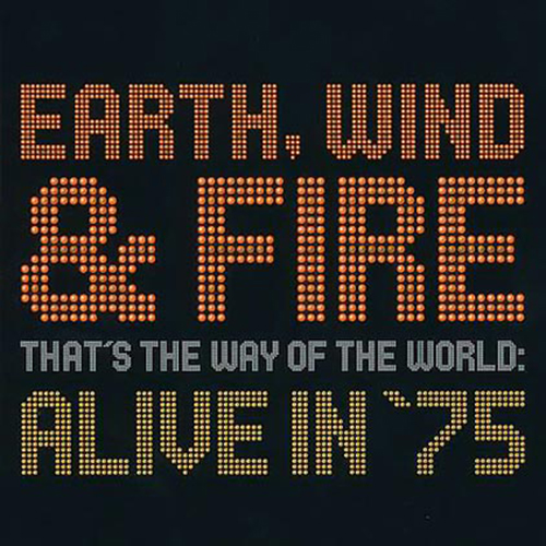 Black to the Music - EWF - Lp 2002 - THAT'S THE WAY OF THE WORLD - ALIVE IN '75