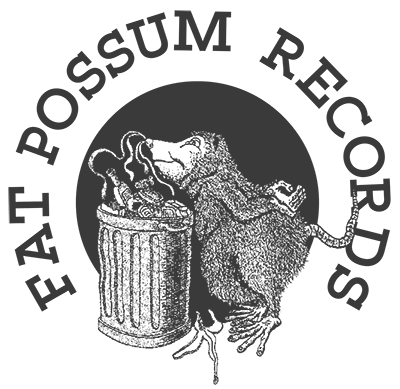 Black to the Music - Fat Possum Records logo
