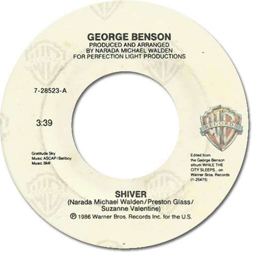 Black to the Music - George Benson - 1986 - Shiver