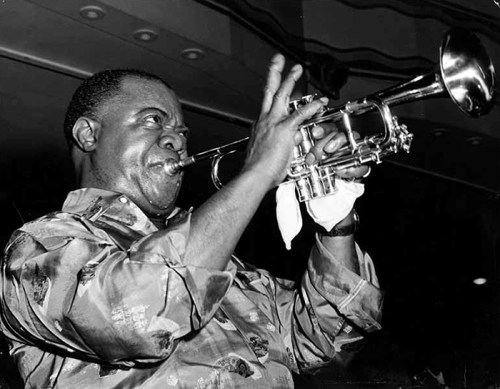 Black to the Music - Louis Armstrong - 03